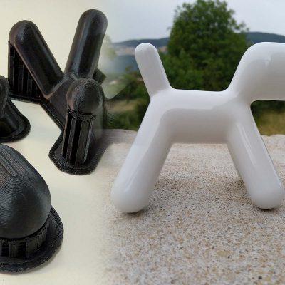 Finition et laquage sur impression 3D par dépot de fil (DMM).
