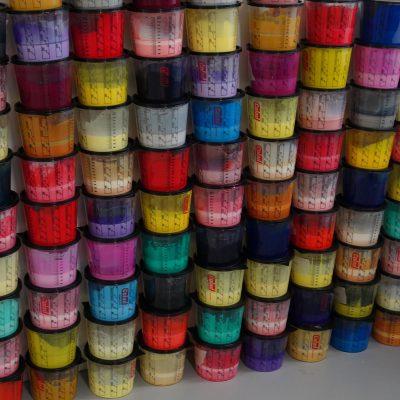 Création de couleurs